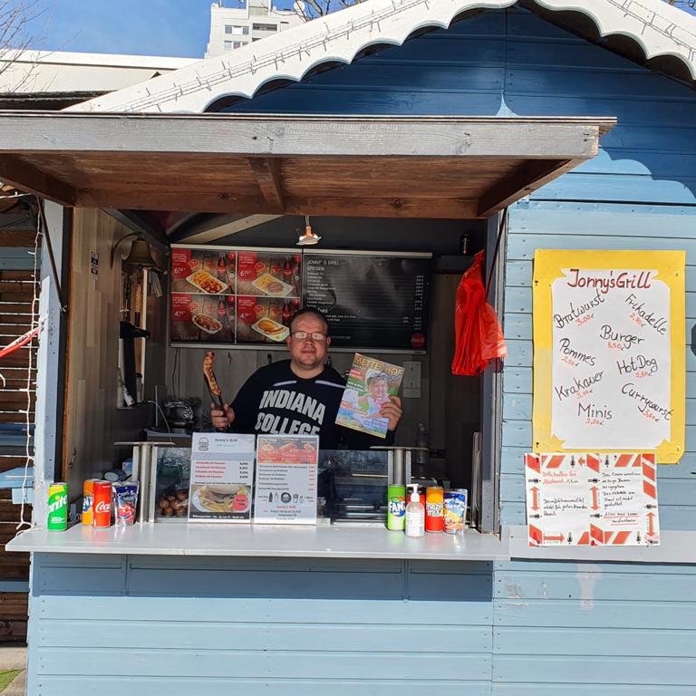 Neuer Verteilerpunkt! Jonny's Grill in Mettenhof